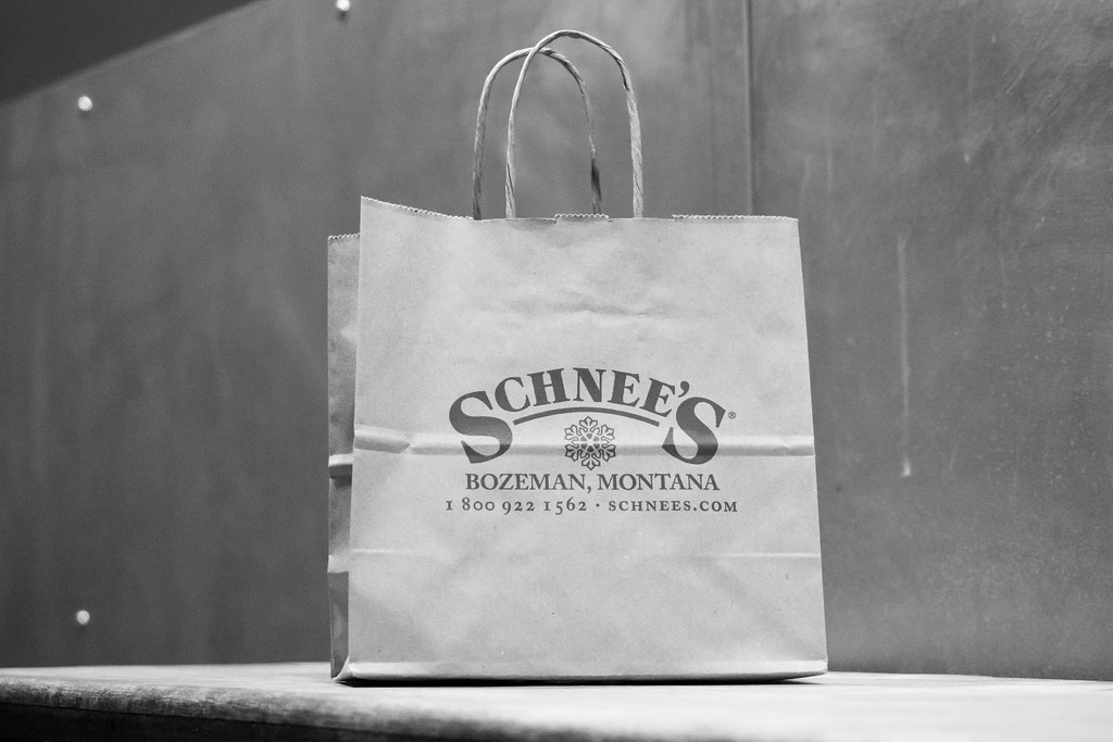 Shopping In Bozeman Mt >> Shopping Bag From Schnee S Bozeman Mt M01229 Flickr
