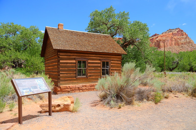 IMG_4851 Fruita Schoolhouse, Capitol Reef National Park