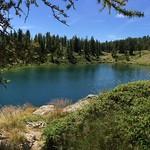 Lac des Graverettes (2300 m- Parc du Mercantour) France