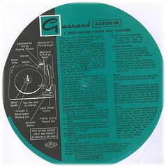 Garrard Autoslim Instructions