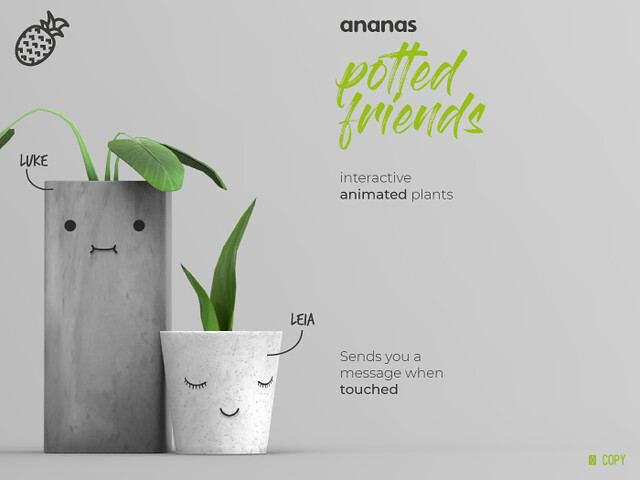 Ananas// Potted Friends now available @Sense Event