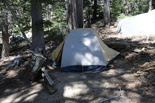 031 Our tent set up in the Tamarack Valley Campground at the Diorite campsite | by _JFR_