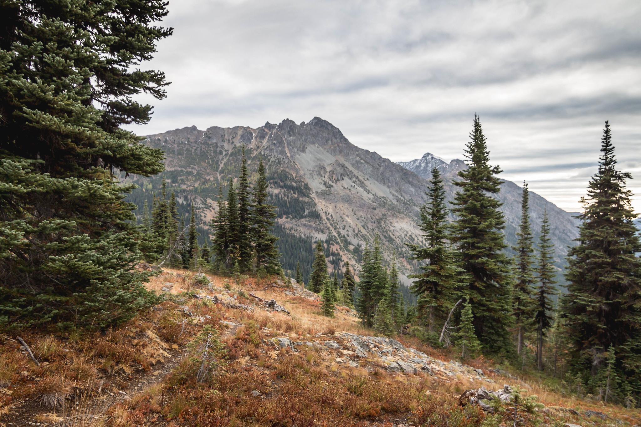 One step closer to Devils Peak in Pasayten Wilderness