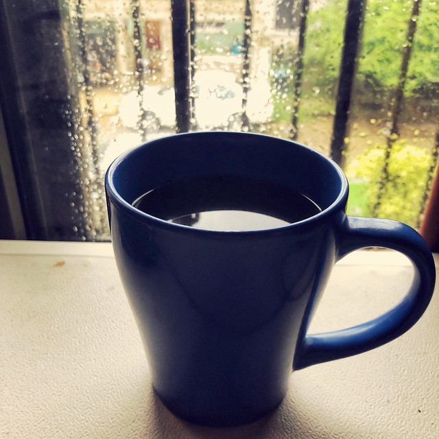 Rainy time means coffee time
