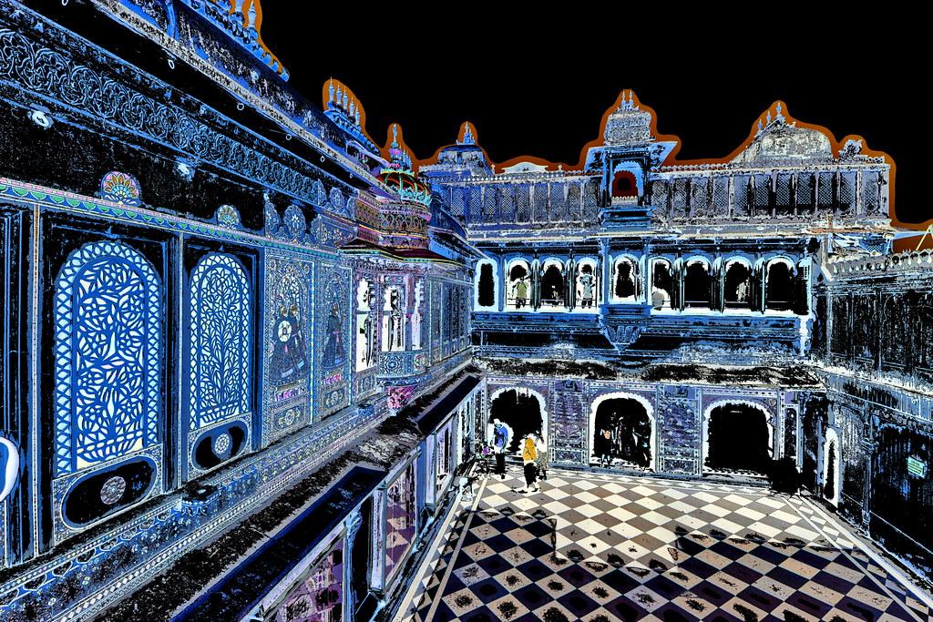 India - Rajasthan - Udaipur - City Palace - 36dd