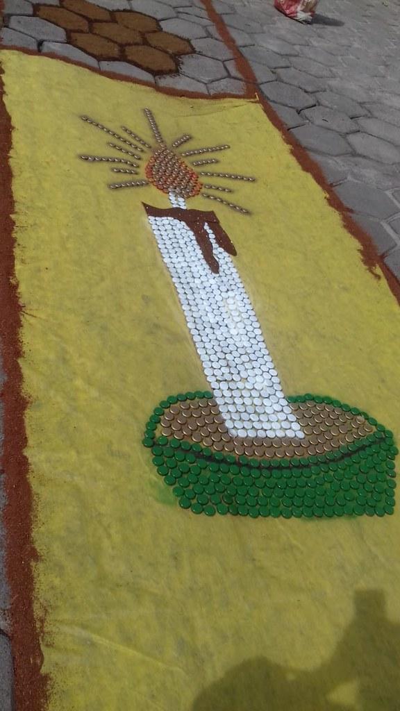 Confecção de tapetes mantém a tradição no feriado de Corpus Christi em Prado (13)
