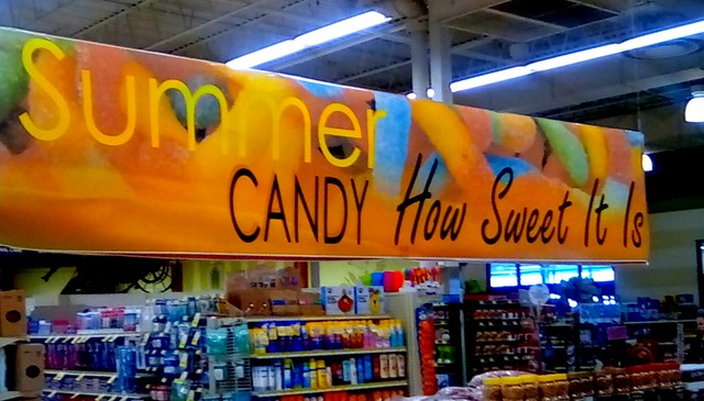 Supermarket sign - SS 365/221