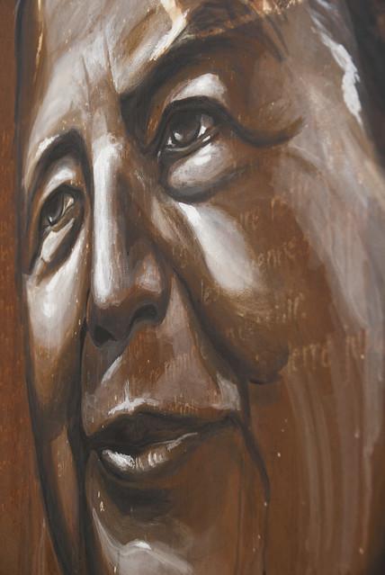 Marguerite Yourcenar, painted portrait _DDC0116