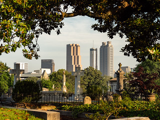 Atlanta Skyline from Oakland Cemetery | by Ed Rosack