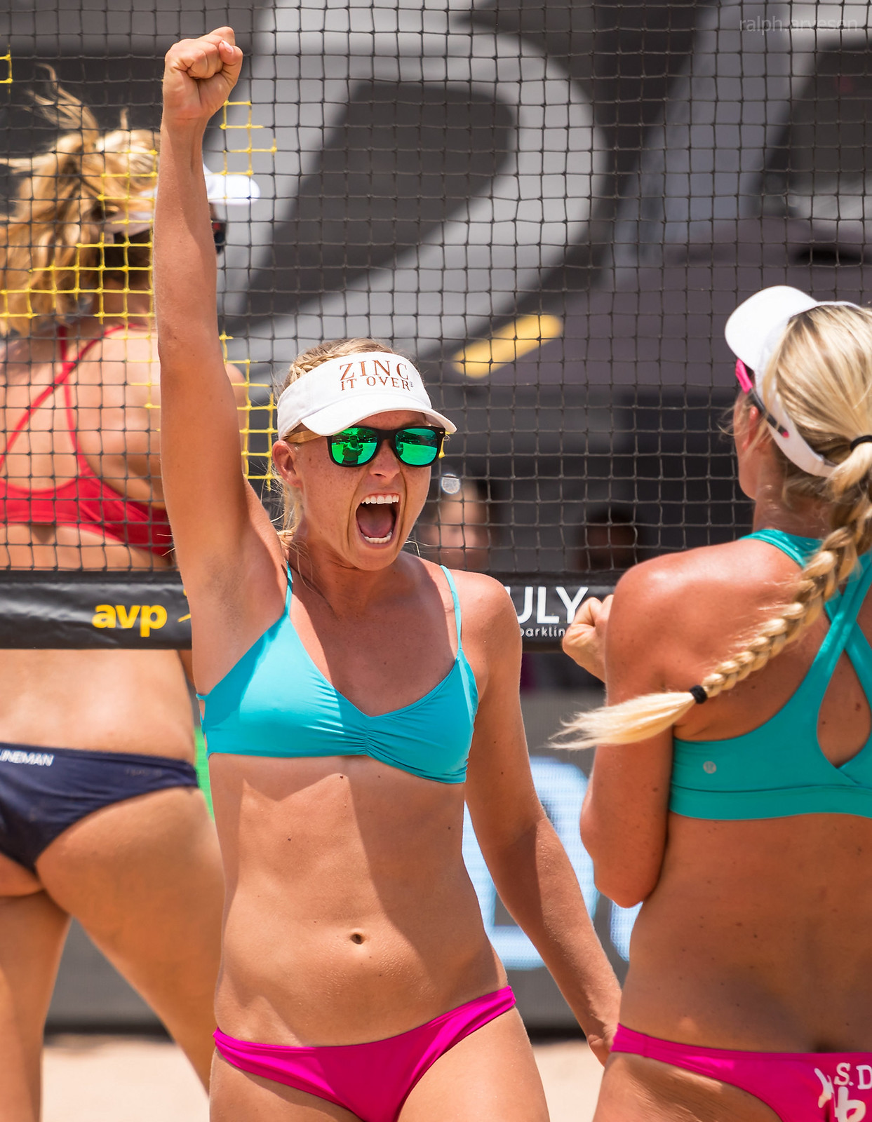 AVP Beach Volleyball | Texas Review | Ralph Arvesen