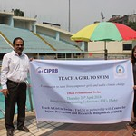 Dr Aminur & Malini poolside-Dhaka TAGS 10km swim