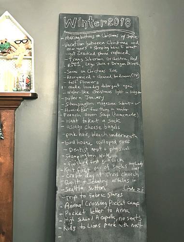Chalkboard winter 2017- 2018 | by robayre