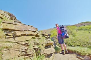Peak District - Edale via Kinder Downfall hike (34) | by www.beckythetraveller.com