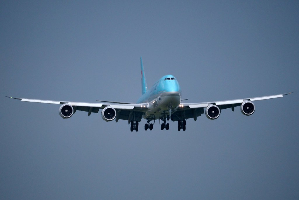Boeing 747-8B5  HL7636 — Korean Air