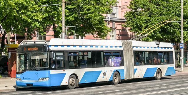 Trolley-bus, Tallinn