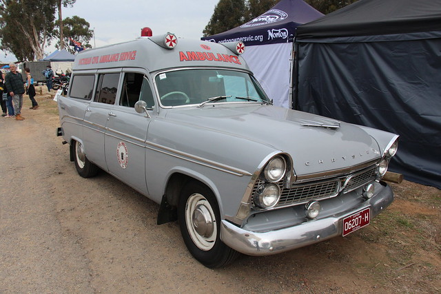 1962 Chrysler Royal AP3 Ambulance