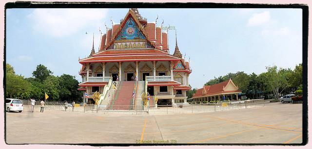 Wat Asokaram in October 2013, 777-1 Bang Pu Soi 60, Tambon Thai Ban, Amphoe Mueang Samut Prakan, Samut Prakan Province, Thailand.