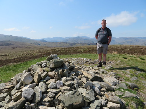 35 - Chris at High Tove with western  mountains behind | by samashworth2