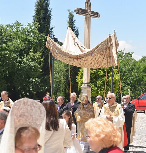 Solemnidad del Corpus Christi en la Abadía del Sacromonte