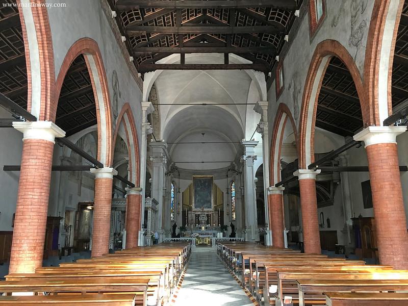 Chiesa di Santa Maria Maggiore, Treviso cosa vedere