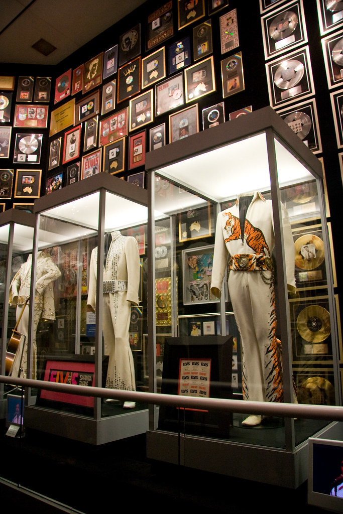 Memphis | Trophy room at Elvis Presley's mansion, Graceland,… | Flickr