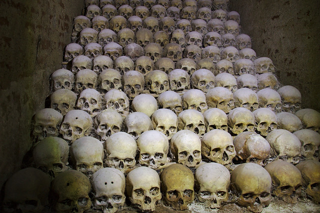 The Ossuary of St. James' Church in Brno