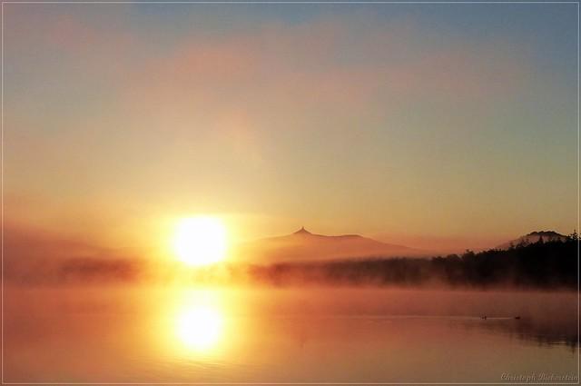 Sonnenaufgang am Hammer-Teich [in explore]