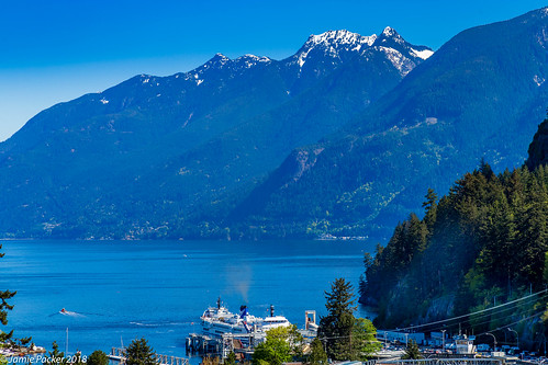2018 may spring horseshoebay bcferries ferry boat mountain sea trees snowcapped canoneos6d canonef24105mmf4lisusmlens landscape seascape shoreline bc canada northshoremountains bccoastalmountains