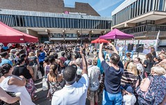 Furthest from the Sea Festival 2017, Derby Market Place in the Cathedral Quarter