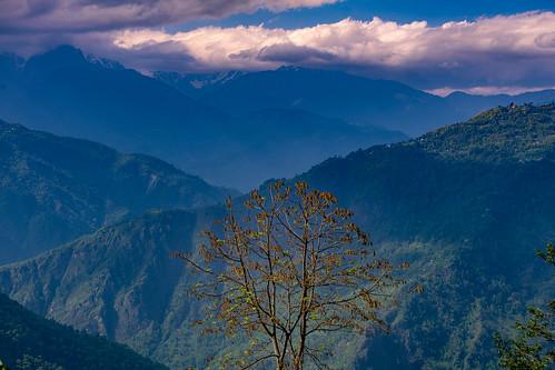 sikkimindia2018 sikkim landscape ravangla india in