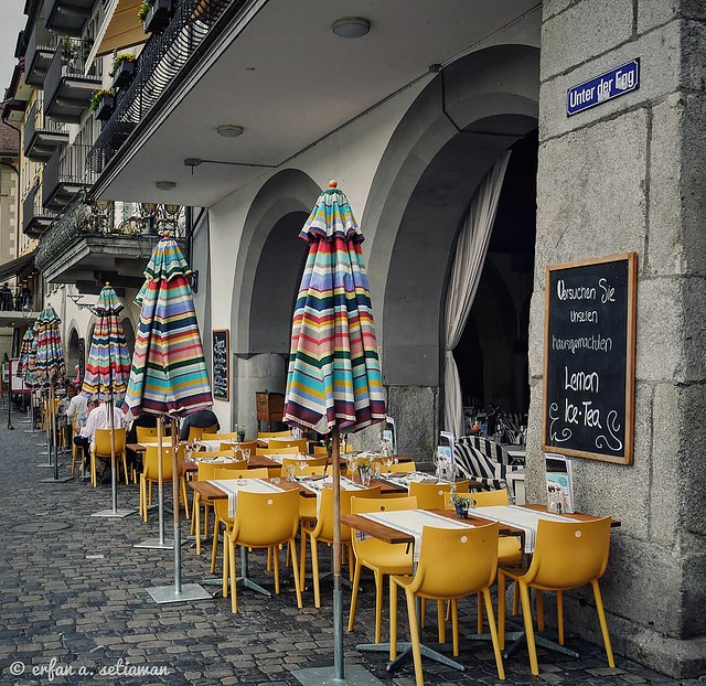 Cafe, Lucerne, Switzerland