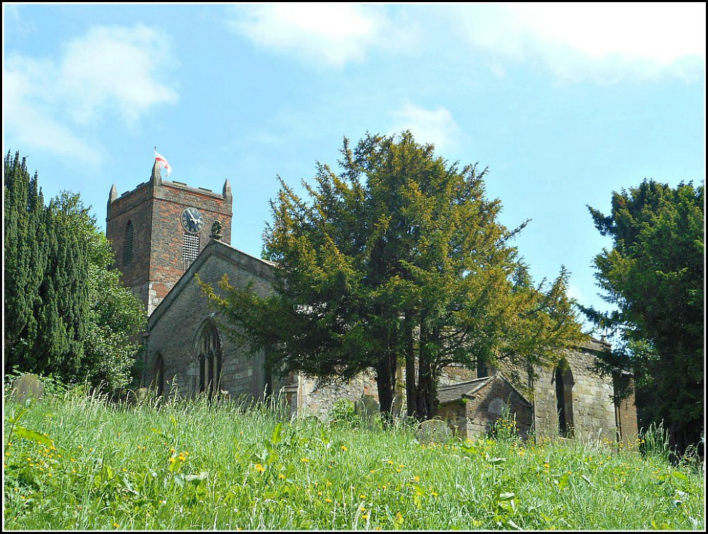 St Nicholas Church at South Ferriby..