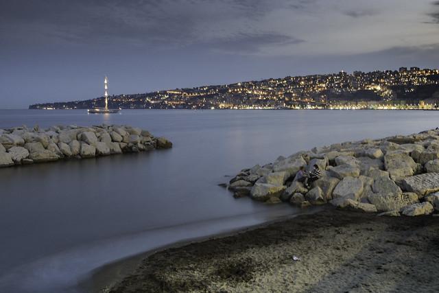 Napoli, Capo Posillipo dal lungomare