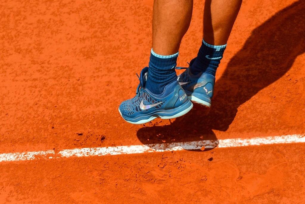 Rafael Nadal Shoes Nike 2018 Roland Garros 2nd Round Photo Flickr