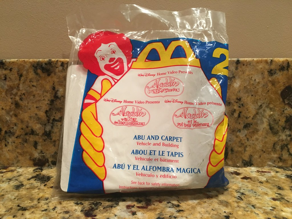 1996 Retro Mcdonald S Happy Meal Aladdin And The King Of Flickr