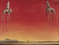Salvador Dali (1948). The Elephants