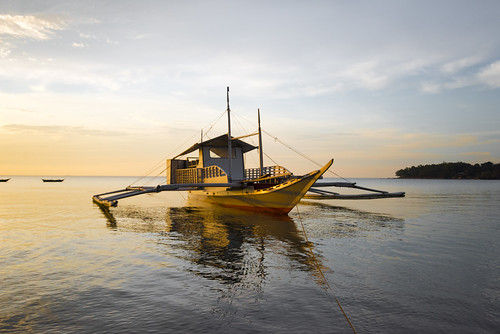 philippines ocean beach travel vacations iloilo carles islands sea paradise tropics tropical tranquil tranquility boat vessel