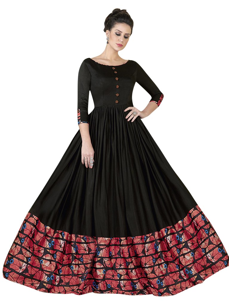 party wear ethnic gowns