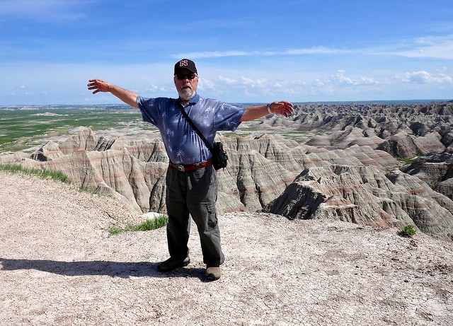 Ali at Badlands National Park