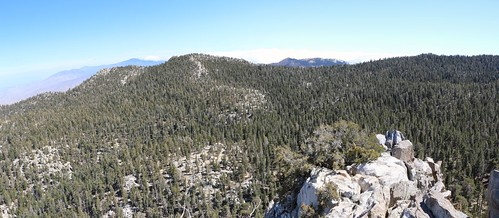 112 View south from Yale Peak toward Toro, Santa Rosa, Luella Todd, and Red Tahquitz   by _JFR_