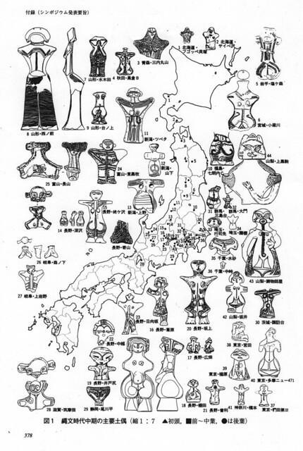 土偶研究の地平 第2集 : 勉誠出版 「背面人体文土偶」安孫子昭二 P.378