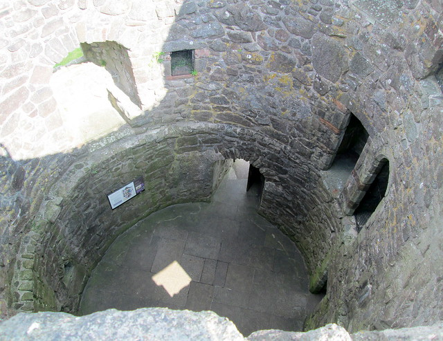 Orchardton Tower Interior