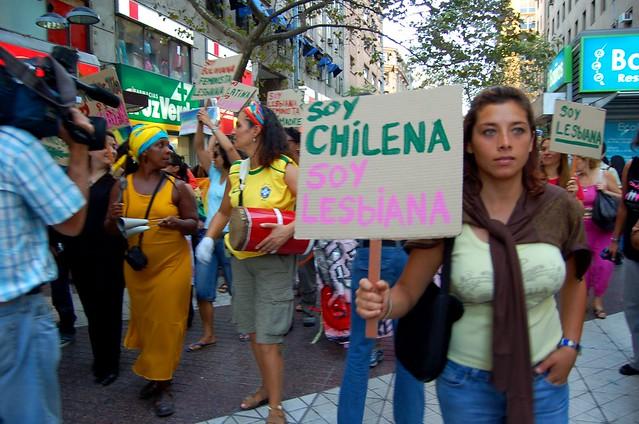 marcha lésbica feminista, 2007.- 113