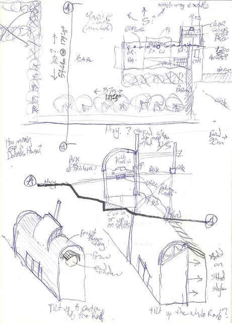 Mcs House Schematic Site Plan Isometric Sketches