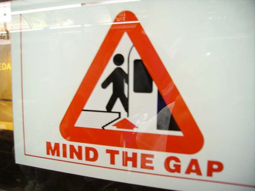 Mind The Gap | by Danielle Scott