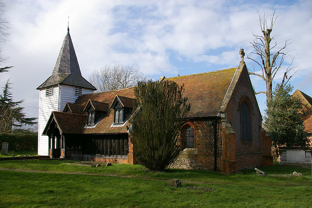 Greensted-juxta-Ongar Church, Essex