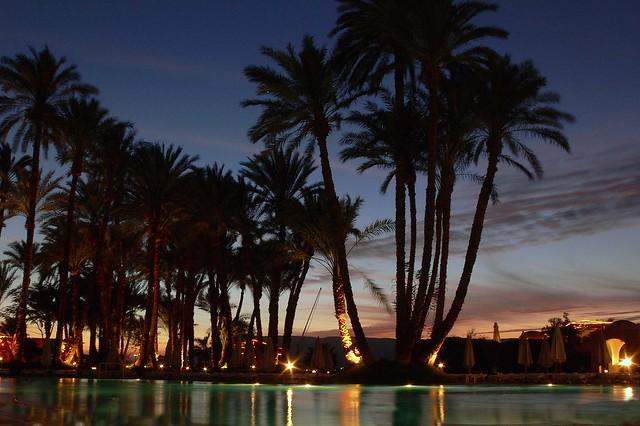 Sunset in Luxor - 10 second Exposure