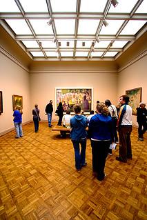 People viewing Art... | by fensterbme