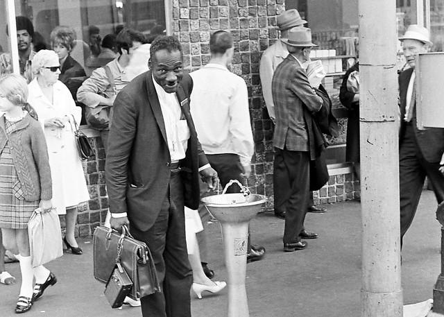 Seattle, near Pike Place Market, 1970
