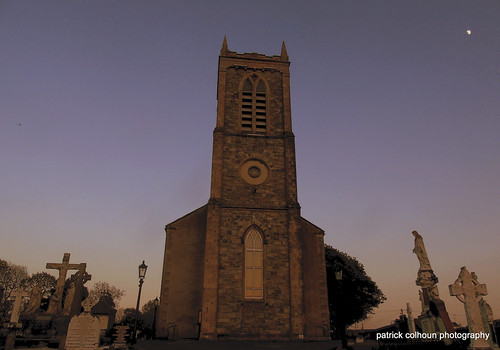 church chapel religious stmarys buncrana donegal ireland historic sunset countydonegal ulster inishowen building